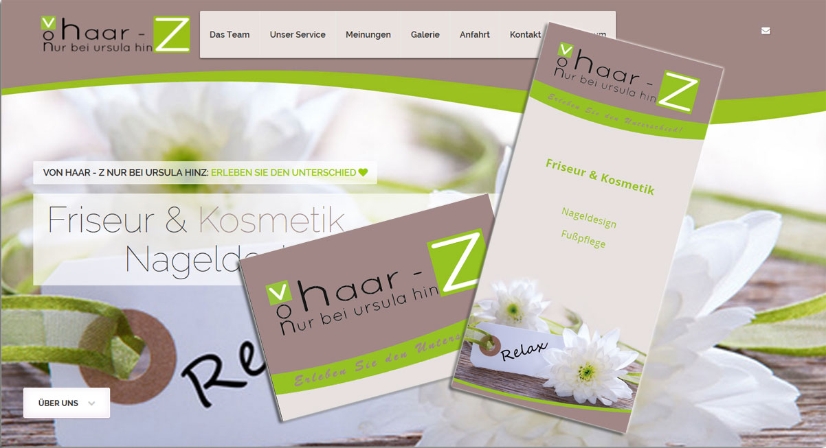 Top Angebot Webdesign Flyer Visitenkarten