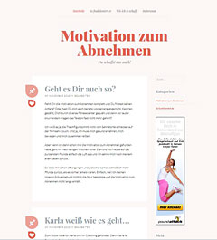 Wordpress Webdesign für Affiliate Website