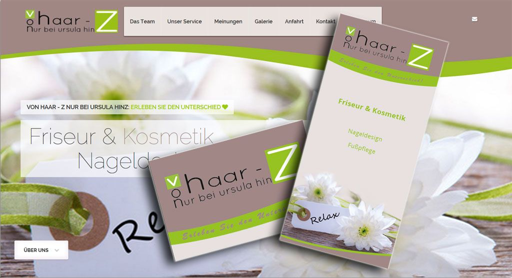 Top Angebot Webdesign Flyer Visitenkarten